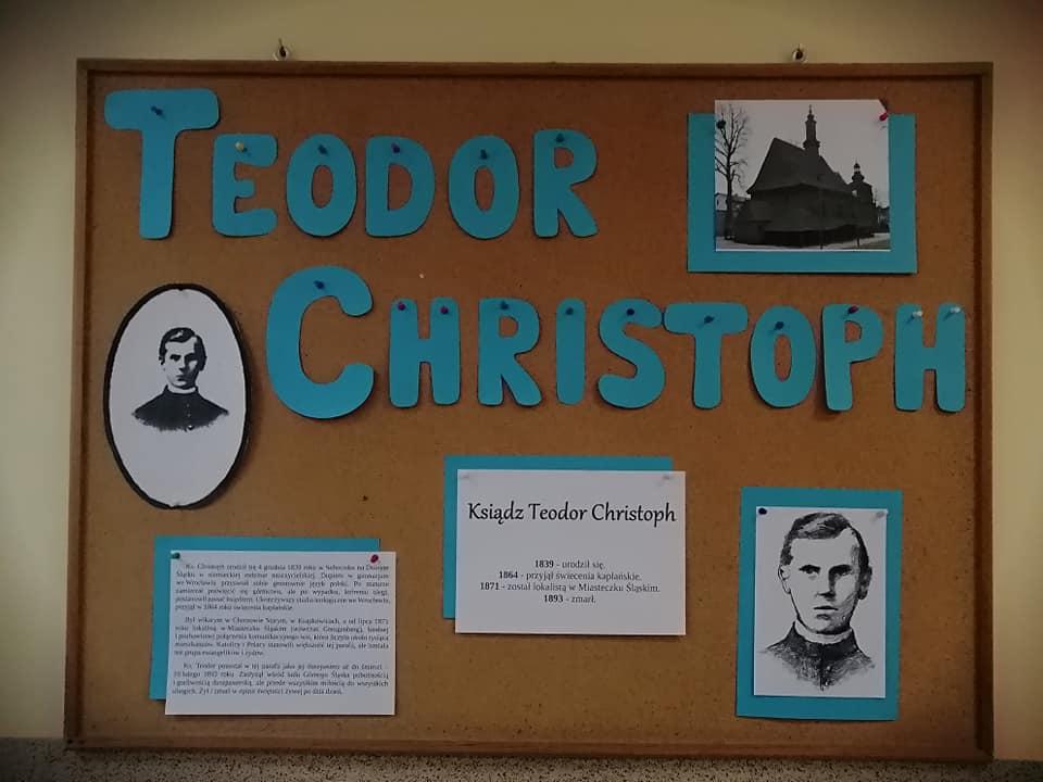 #SzkołaPamięta Ksiądz Teodor Christopch