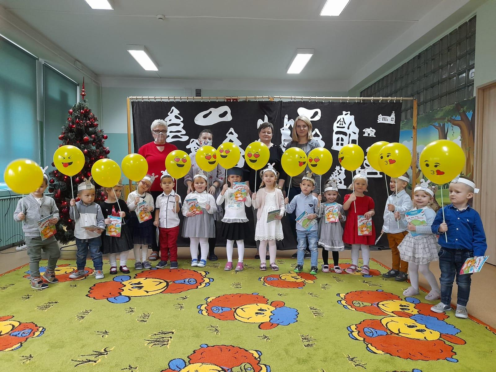 Pasowanie na przedszkolaka w Zajączkach