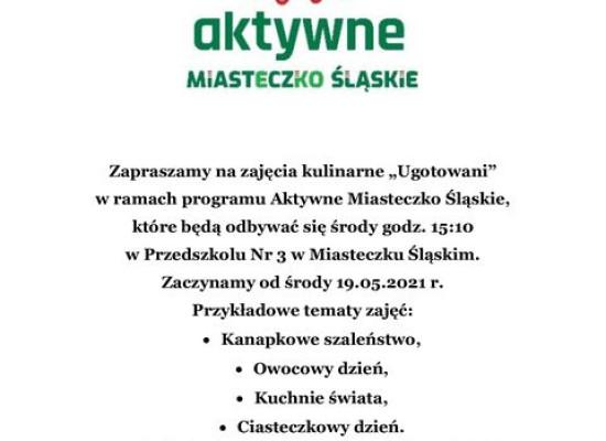 zdjęcie do artykułu: Zajęcia Kulinarne