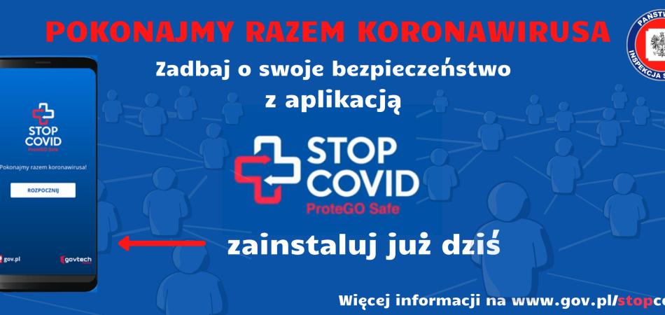 grafika dla wpisu: STOP COVID
